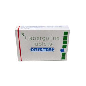 Lägsta pris på Cabergoline (Cabaser). De Caberlin 0.5 köp Sverige cykel