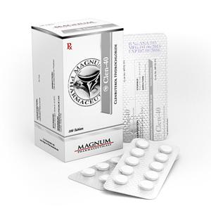 Lägsta pris på Clenbuterolhydroklorid (Clen). De Magnum Clen-40 köp Sverige cykel