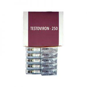 Lägsta pris på Testosteron-enanthat. De Testoviron-250 köp Sverige cykel