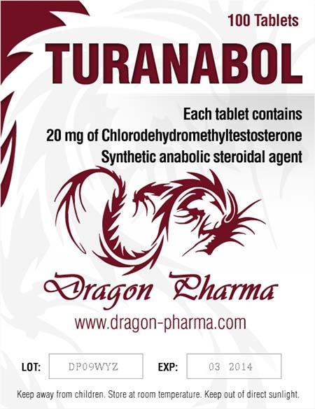 Lägsta pris på Turinabol (4-klorodehydrometyltestosteron). De Turanabol köp Sverige cykel